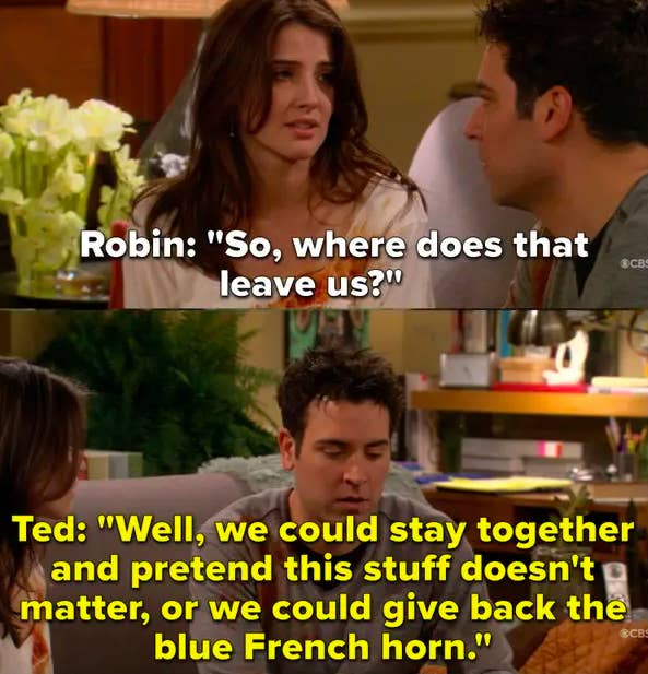 Ted and Robin break up over their differences