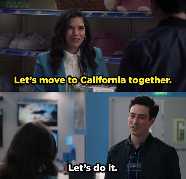 Amy and Jonah decide to move to California together