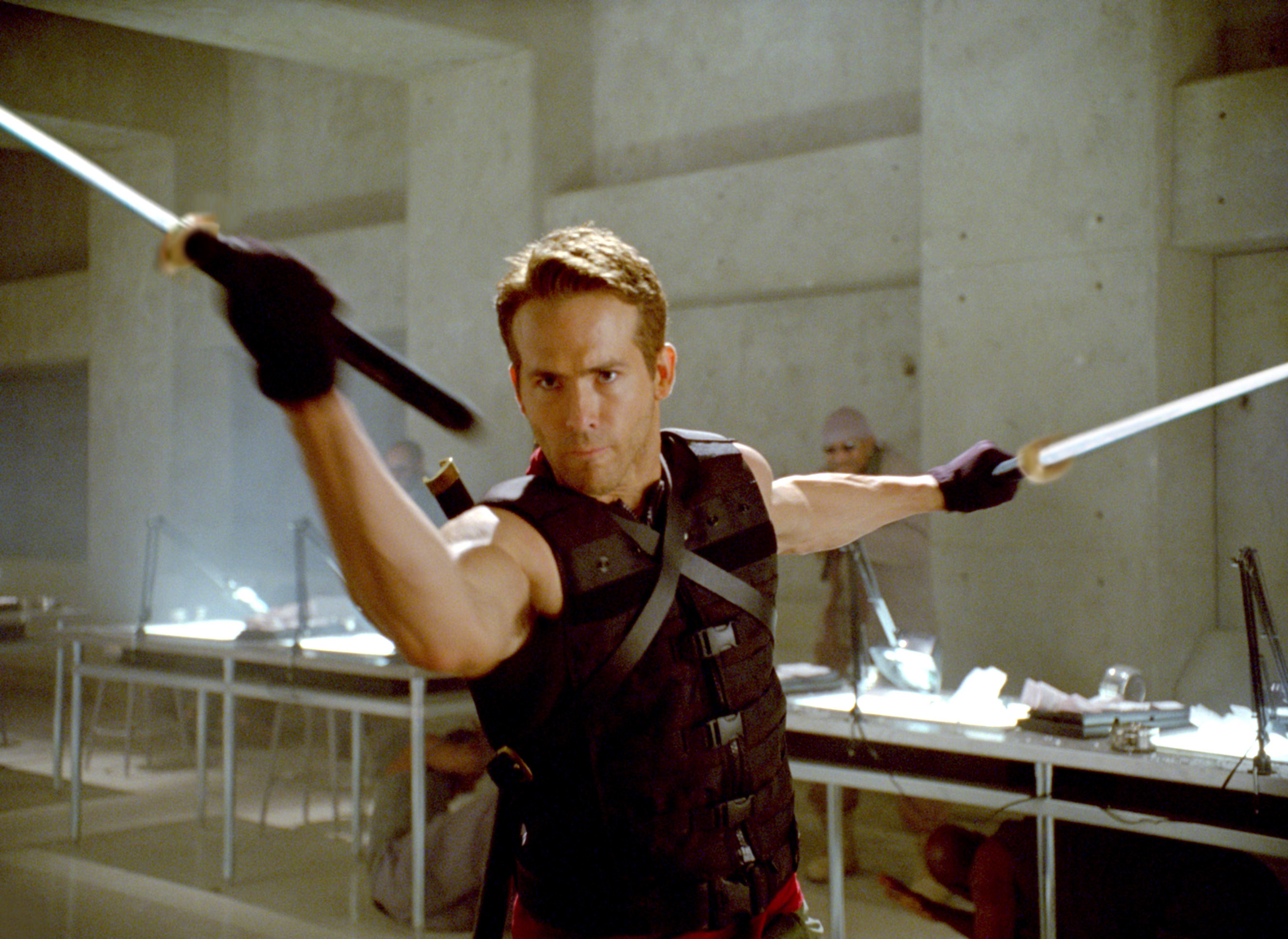 Reynolds as Deadpool in the film