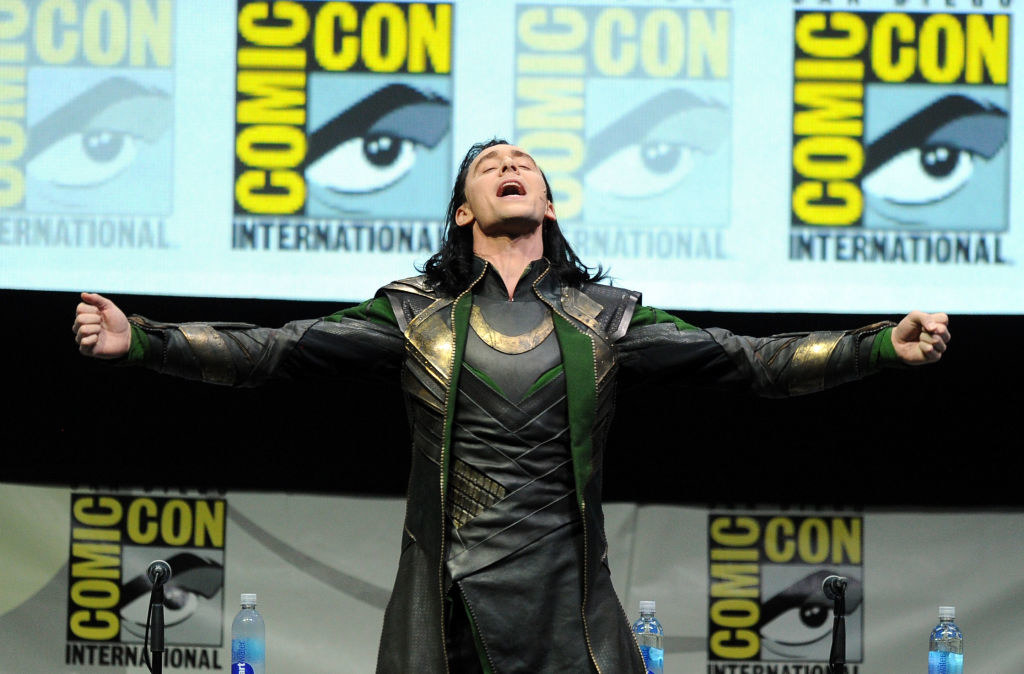 Hiddleston at Comic Con