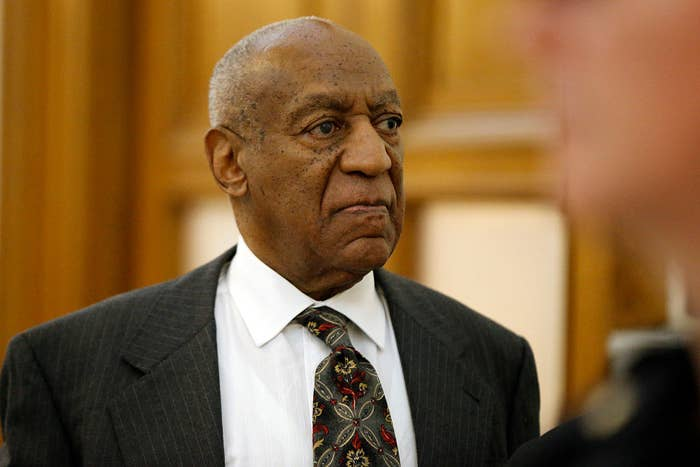 Bill Cosby departs the Montgomery County Courthouse after a preliminary hearing