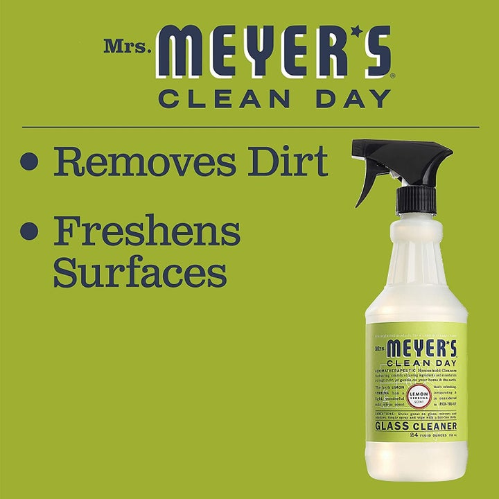 The surface cleaner next to copy that says it removes dirt and freshens surfaces