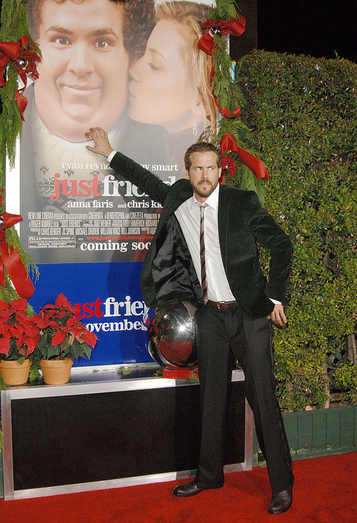 "Ryan Reynolds during ""Just Friends"" Los Angeles Premiere"