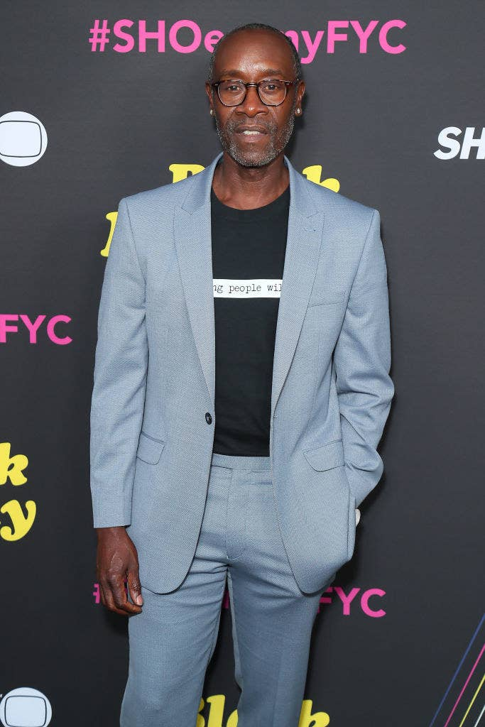 """Don Cheadle attends FYC Red Carpet Event For Showtimes' """"Black Monday"""""""