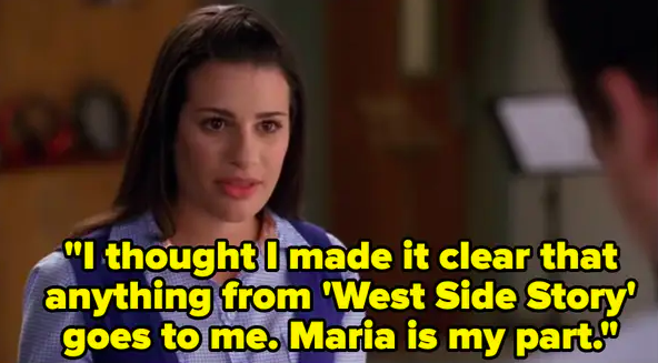 """Rachel: """"I thought I made it clear anything from 'West Side Story' goes to me, Maria is my part"""""""