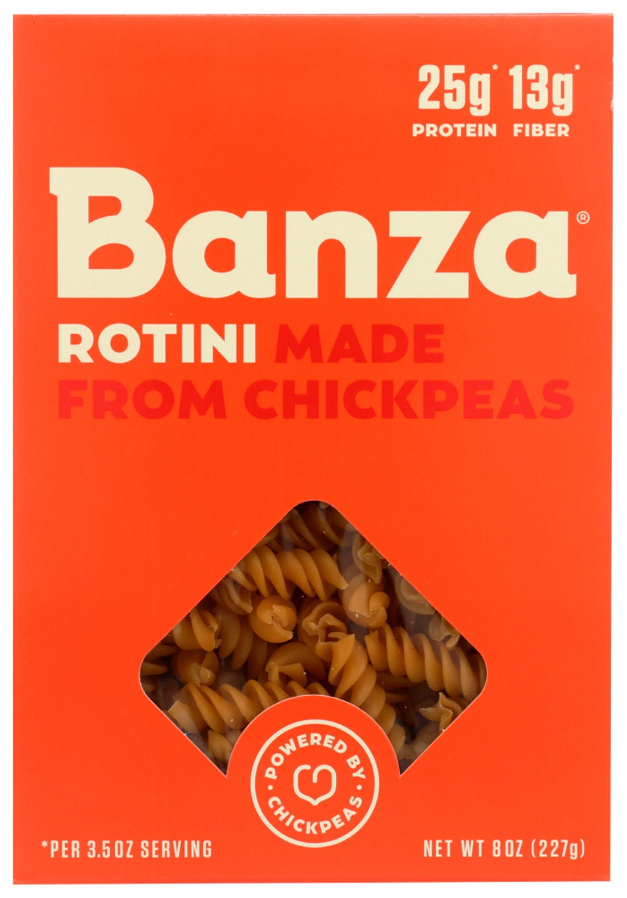 the orange box of pasta