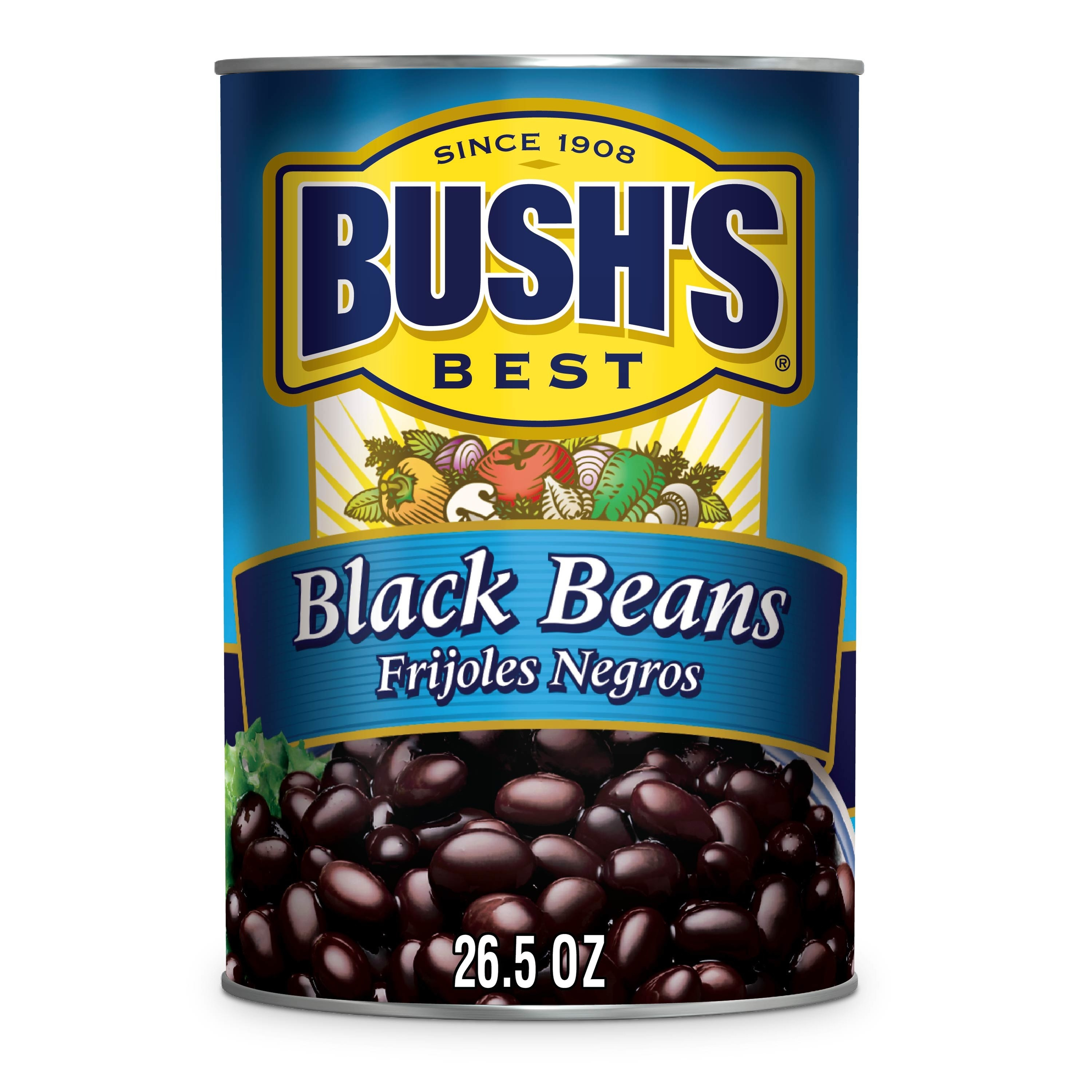 the blue can of beans