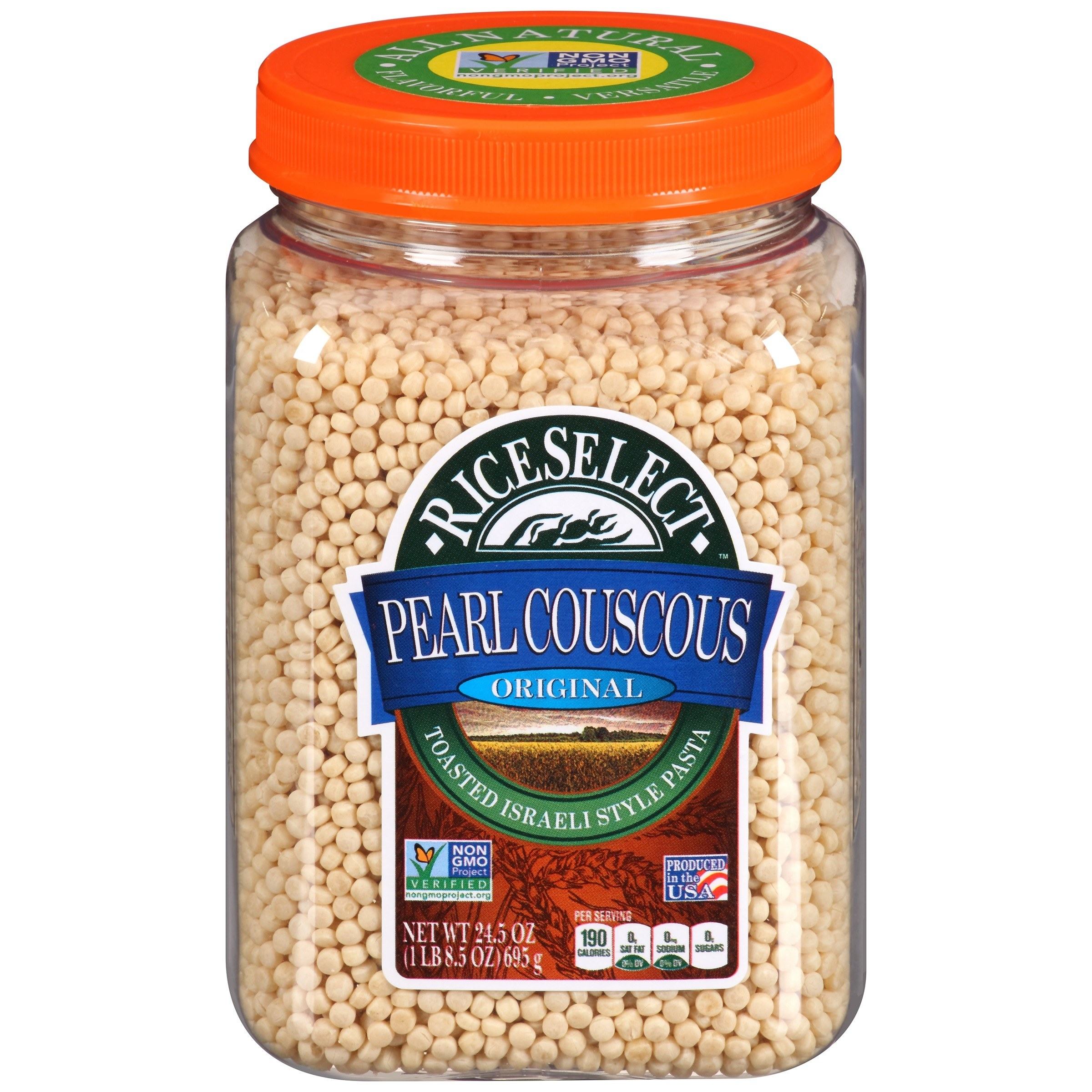 the container of couscous