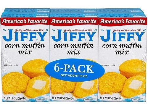 the pack of muffin mix