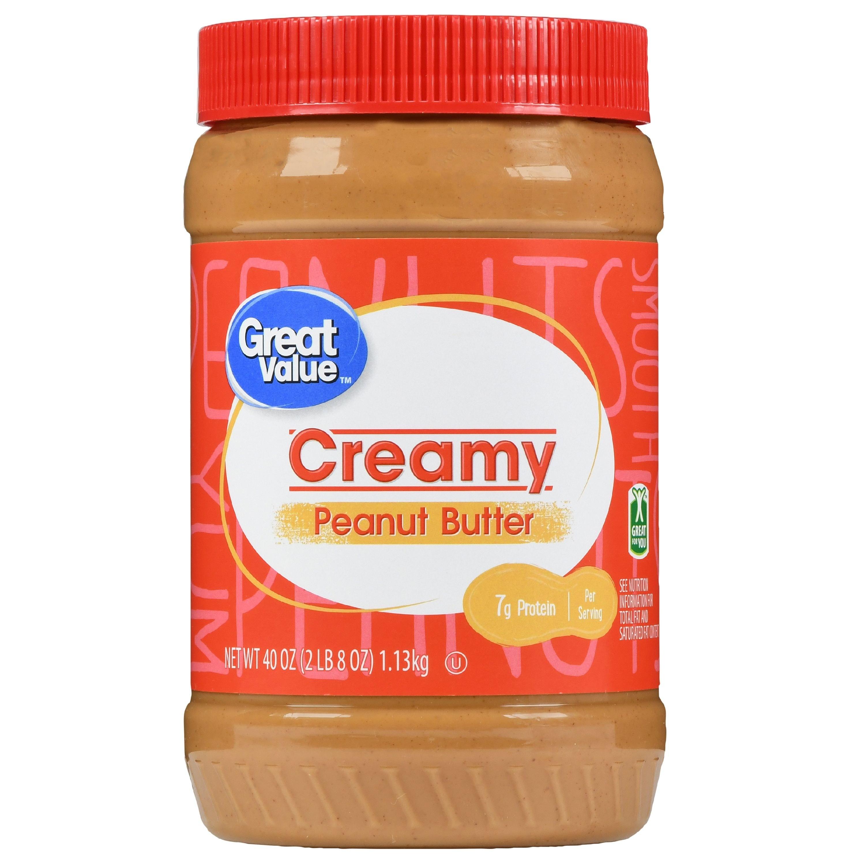 the jar of peanut butter