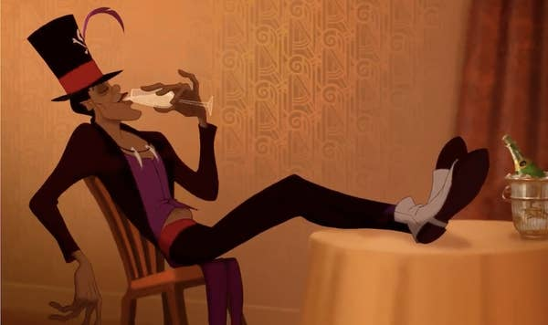 Dr. Facilier from The Princess and the Frog