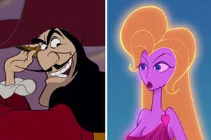 captain hook and lady from hercules