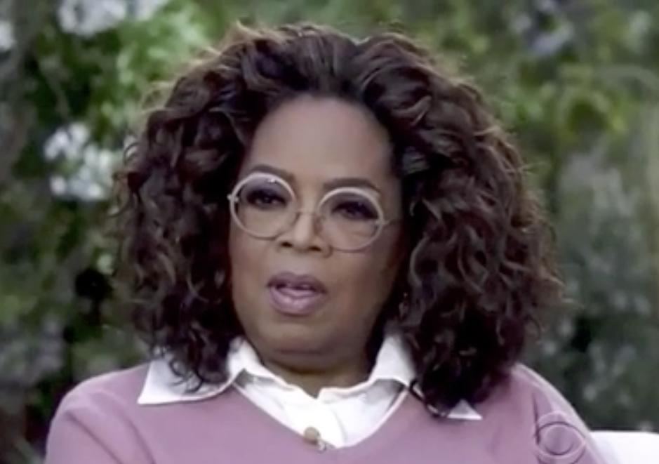 Shocked Oprah