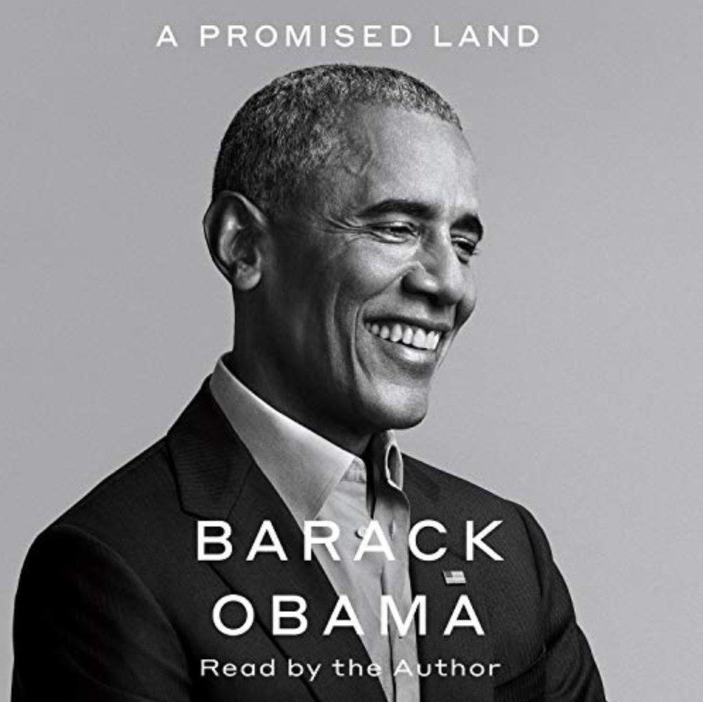 the cover of Barack Obama's book A Promised Land