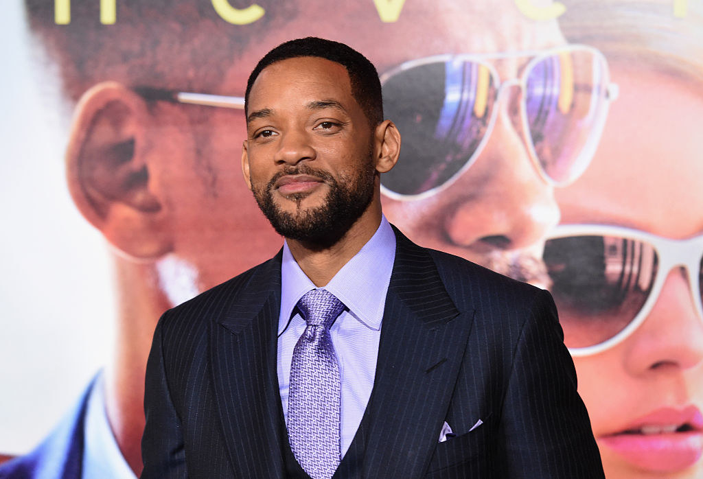 Will Smith in a suit and tie