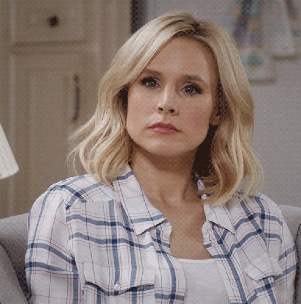 Angry Kristen Bell