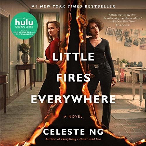 The cover of Little Fires Everywhere