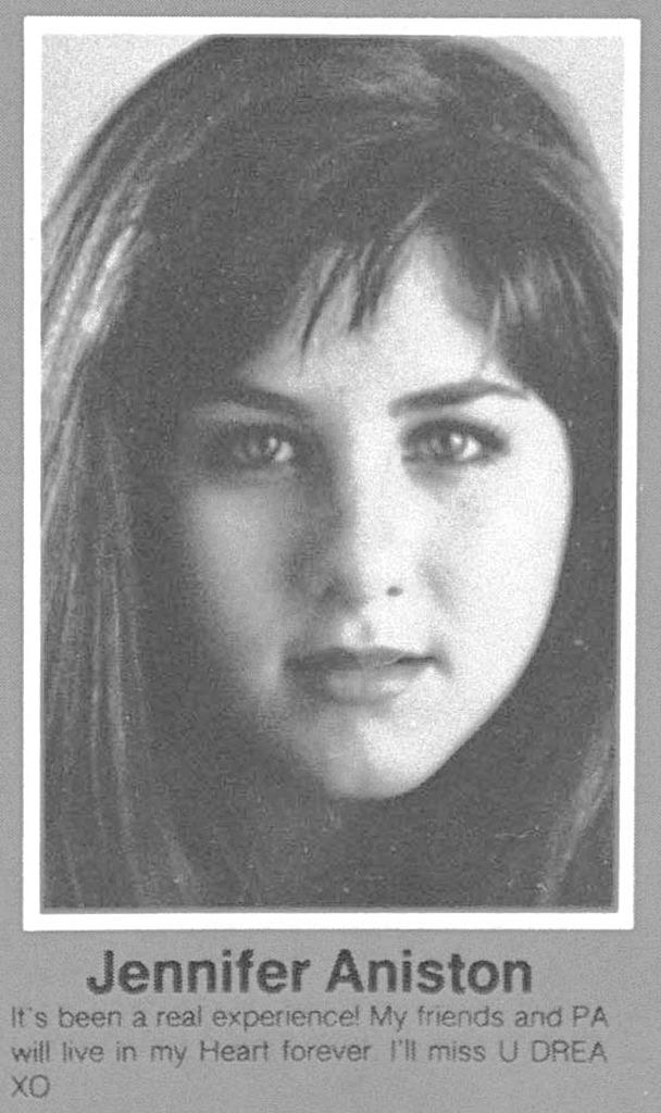 her yearbook picture