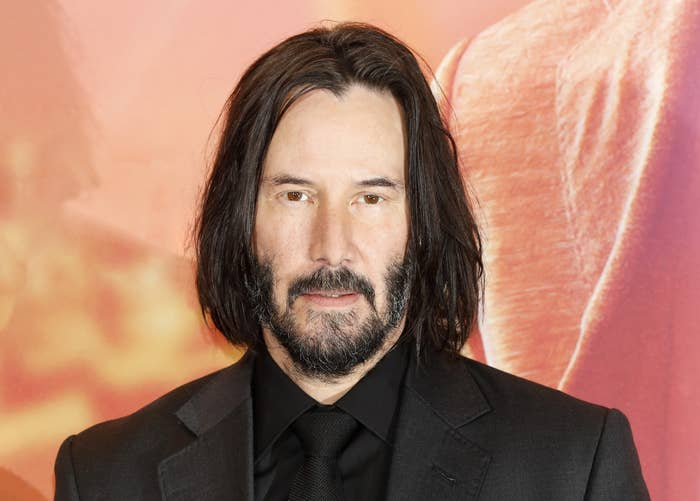 Photo of Keanu Reeves at a premiere