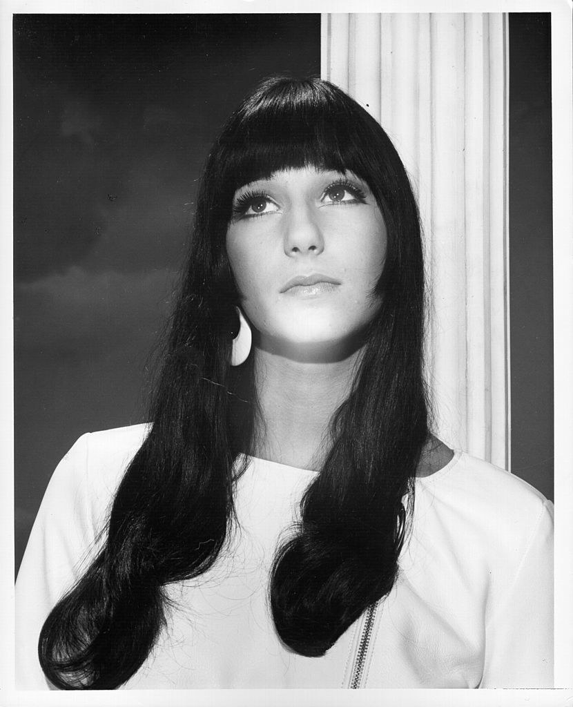 a portrait of Cher from 1963