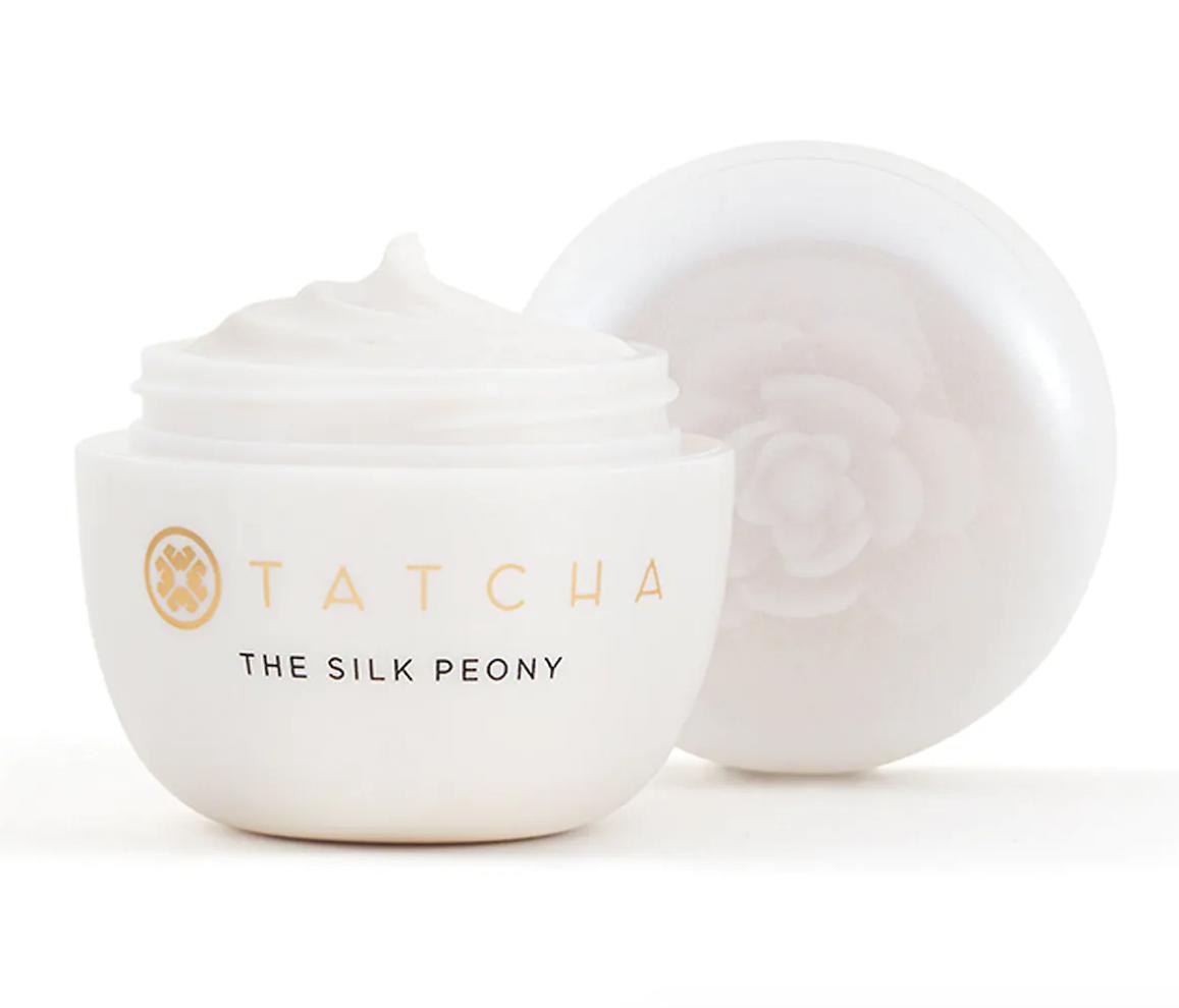 The silk peony cream container