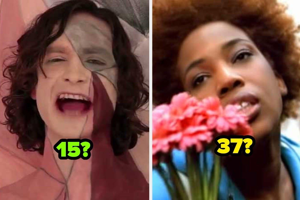 Gotye from Somebody that I Used To Know and Macy Gray from I Try