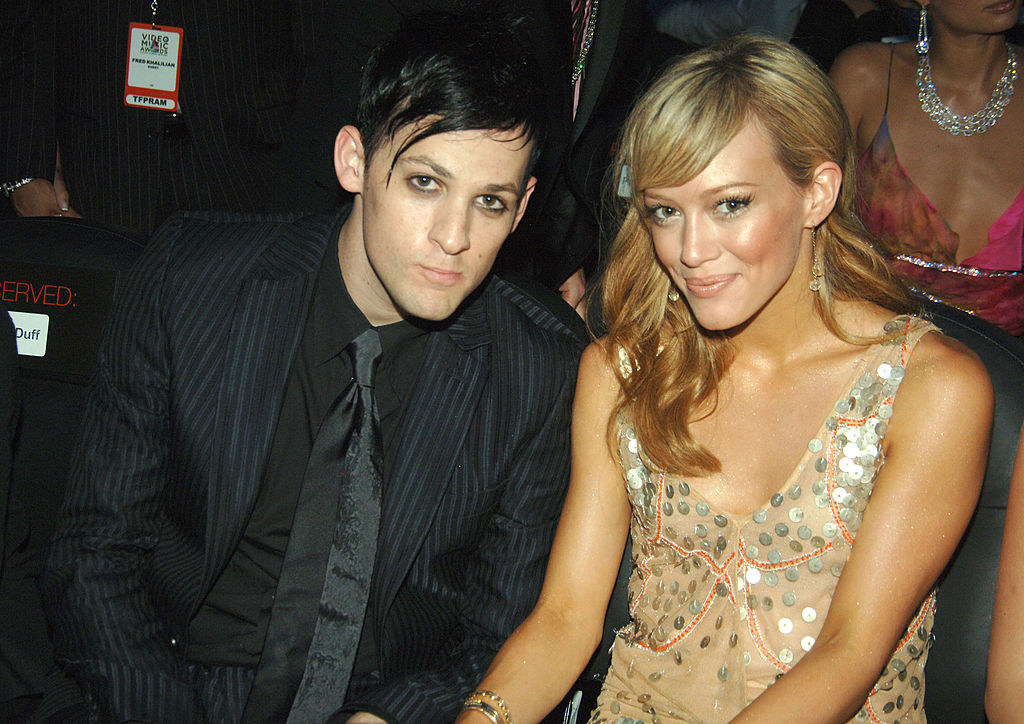 when she was dating Joel Madden