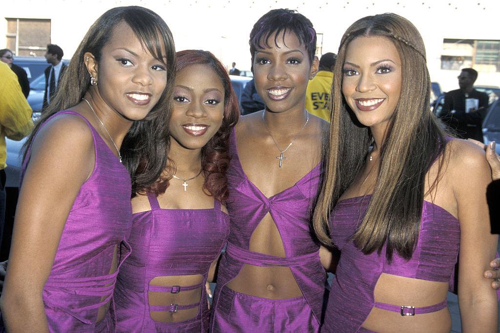 Beyoncé in a four-person Destiny's Child