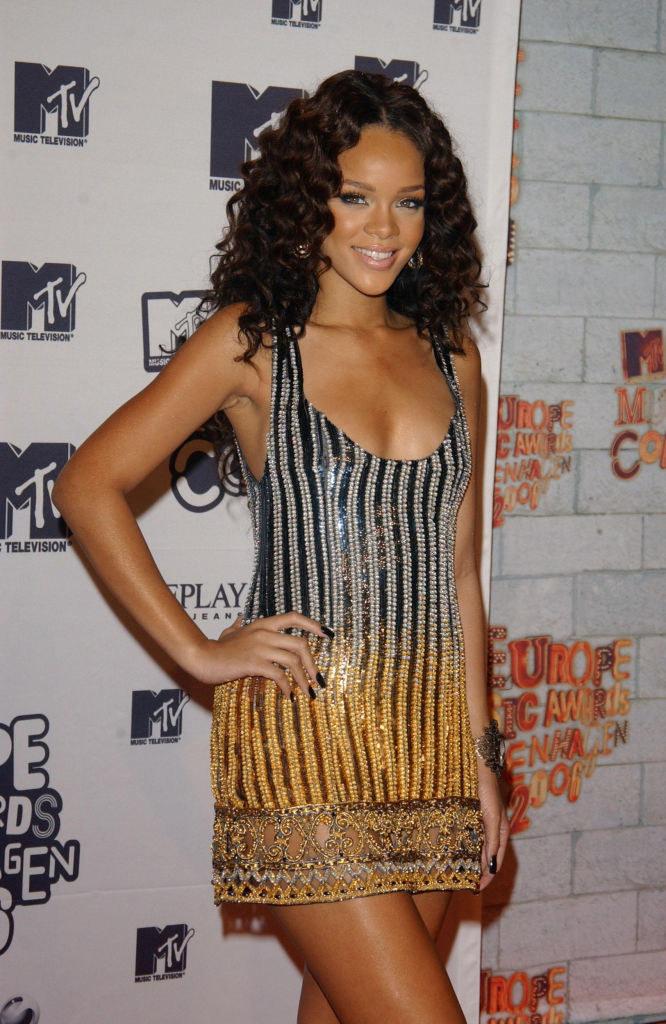 at an MTV Awards
