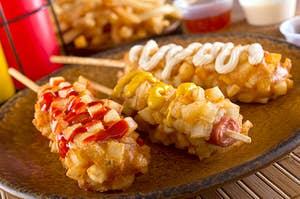 korean corn dogs