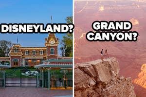 DISNEY LAND? grand canyon