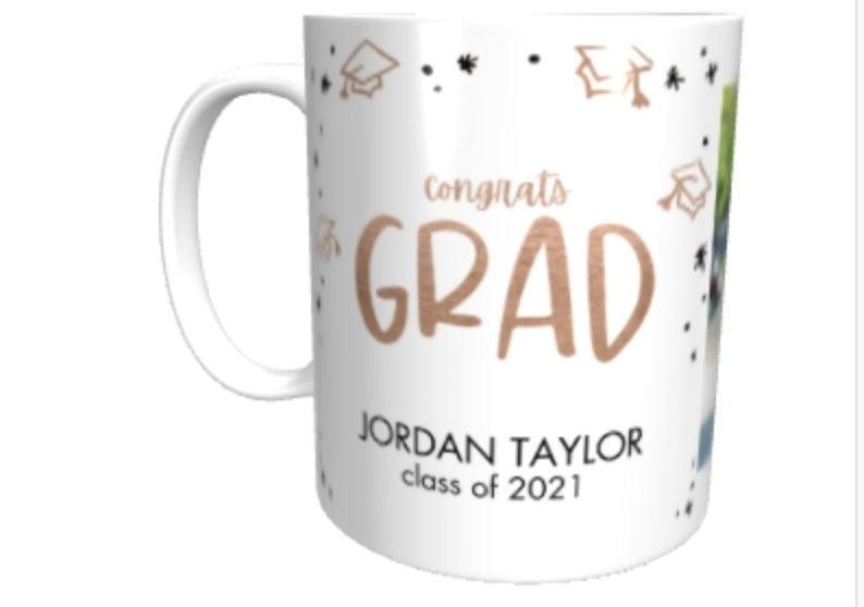 the custom photo mug in congraduation theme