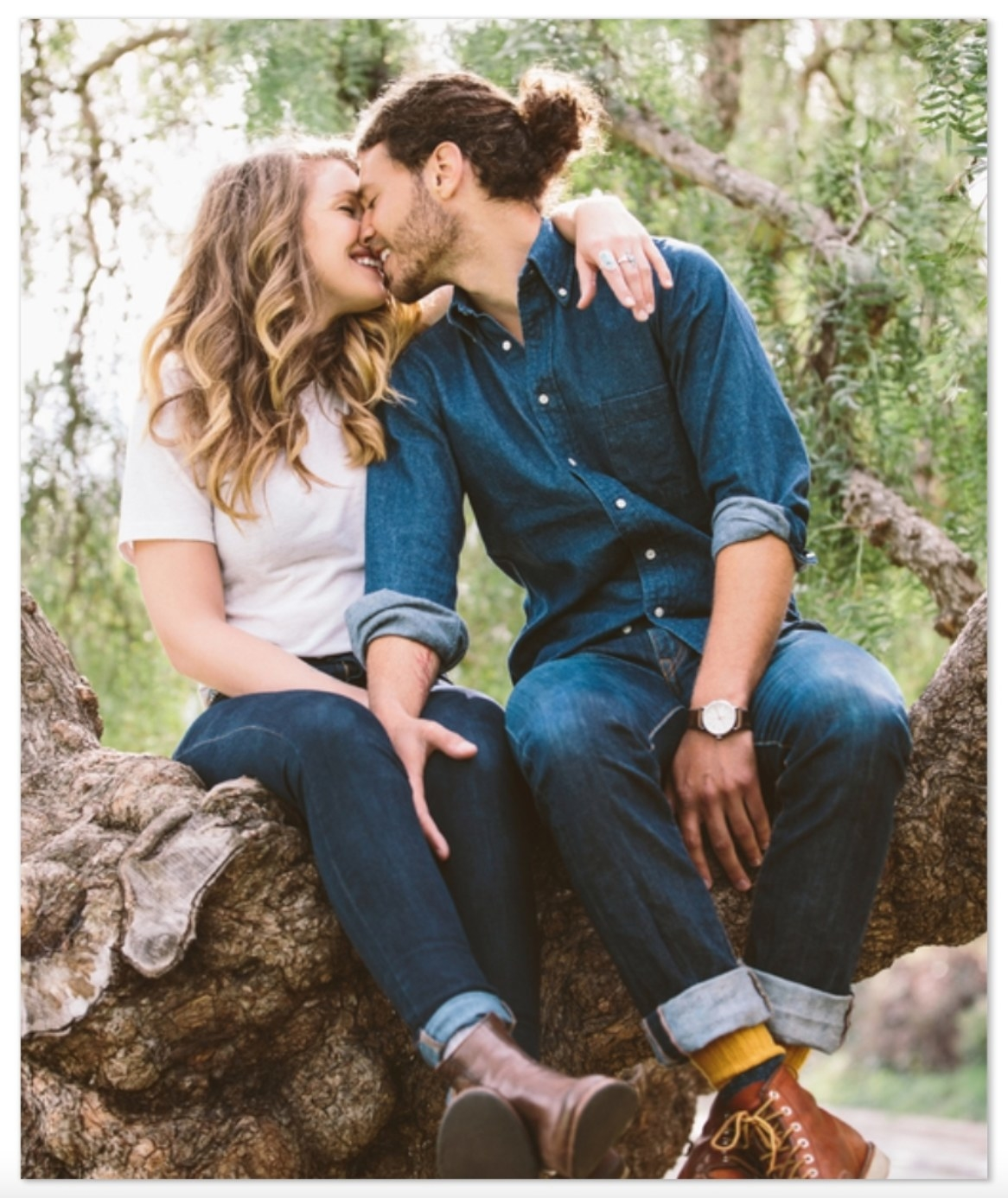 a photo of a couple for the sherpa fleece blanket