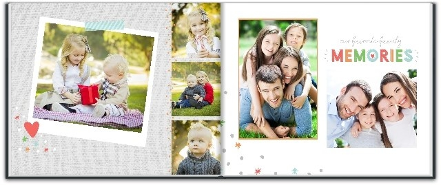 The double-sided photo book