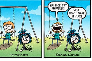 Frankie Fearless comic