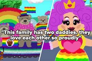 """""""这个家庭有两个爸爸,他们骄傲地相爱了""""""""class="""