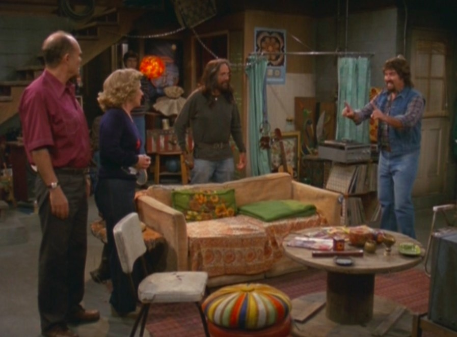 The basement from That '70s Show