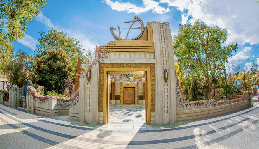 The entrance to the Doctor Strange Ancient Sanctum
