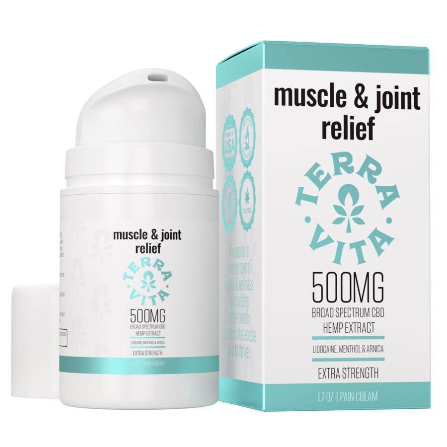 Muscle pain cream