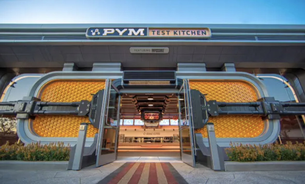 The outside of the Pym Test Kitchen