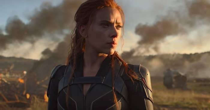 Scarlett Johansson as Natasha Romanoff
