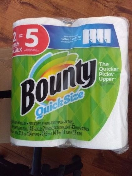 the bounty rolls