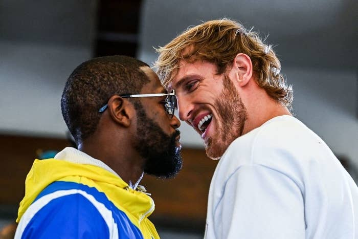 Floyd and Logan face to face