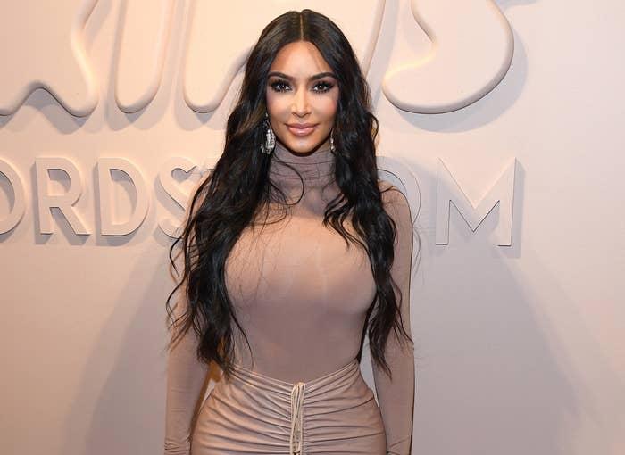 Kim attends a recent Skims event