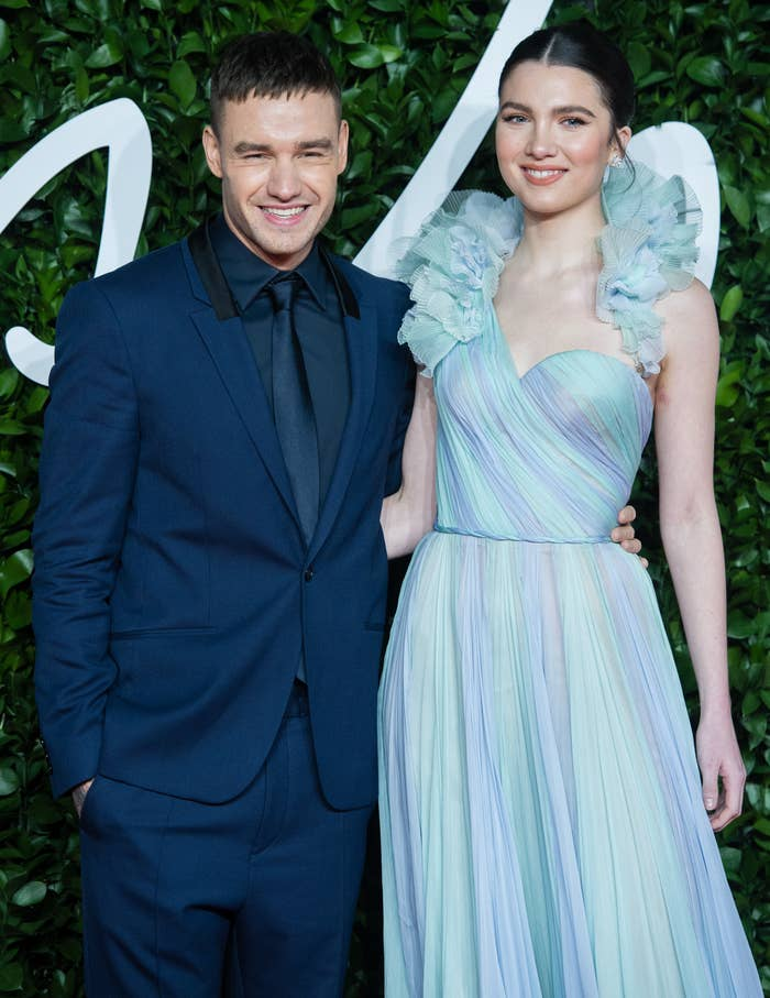 Liam Payne and Maya Henry arrive at The Fashion Awards 2019 held at Royal Albert Hall on December 02, 2019 in London, England