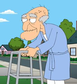 Herbert the Pervert on Family Guy