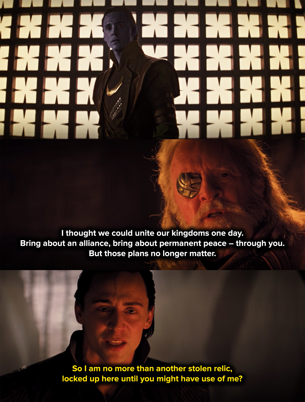 Odin says his original plans no longer matter