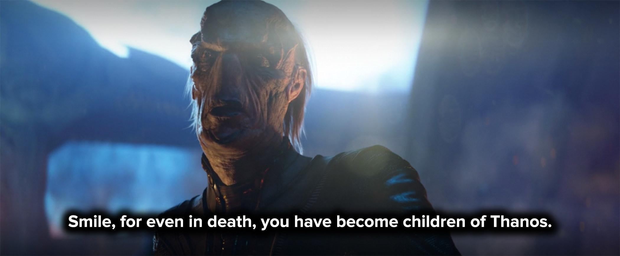 Thanos's children massacred the Asgardians