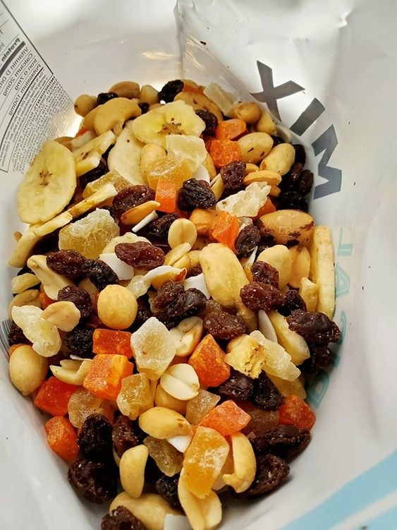 The trail mix