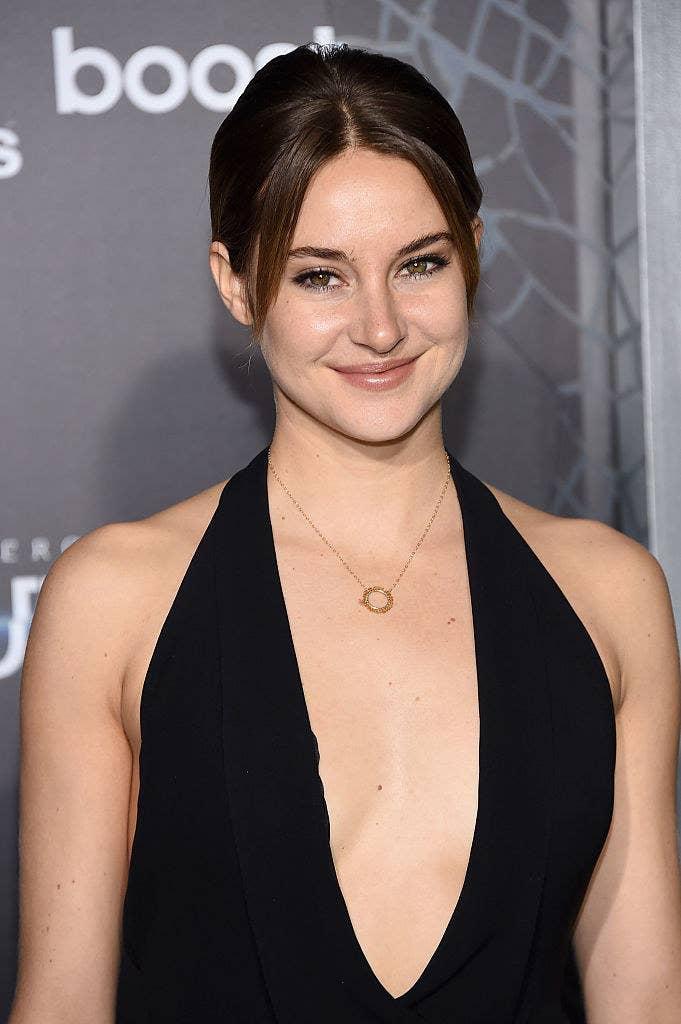 "Shailene Woodley attends ""The Divergent Series: Insurgent"" New York premiere"